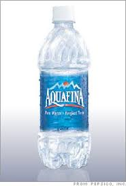 Pepsi Says Aquafina Is Tap Water