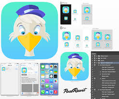 Use The Photoshop Action To Generate Icons From IOS Template