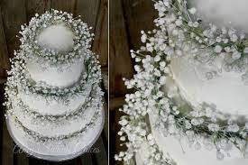 Babys Breath Wedding Cake By Amy Swann Boho Floral Crown Gypsophilia