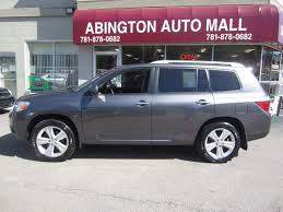 2008 Toyota Highlander Captains Chairs by 2008 Used Toyota Highlander 4wd V6 Limited With 3rd Row Seat At
