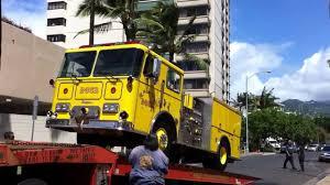 100 Tow Truck Honolulu Firetruck Being Ed YouTube