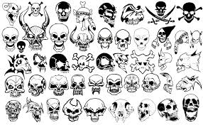 47 Skull And Crossbones Silhouettes