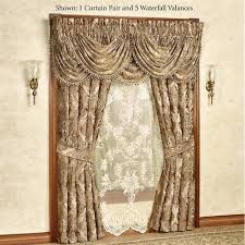 J Queen Kingsbridge Curtains by J Queen Window Treatments Library Damask Window Treatment By J