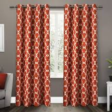 Absolute Zero Curtains Red by Blackout Curtains U0026 Drapes For Less Overstock Com