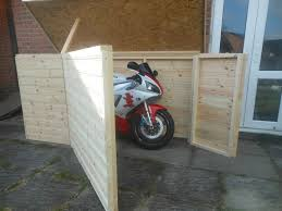 Best 25 Motorcycle storage shed ideas on Pinterest