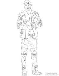 Descendants 2 Printable Coloring Pages