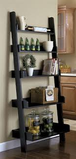 The Perfect Ladder Bookcase For Your Cookery Books In Kitchen Saves
