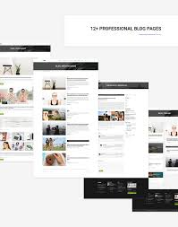 100 Mirax Multipurpose Creative Corporate Portfolio Blog PSD