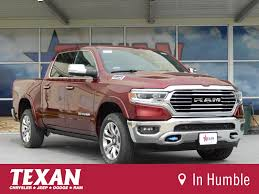 100 Dodge Longhorn Truck New 2019 RAM AllNew 1500 Crew Cab In Humble K8757 Texan