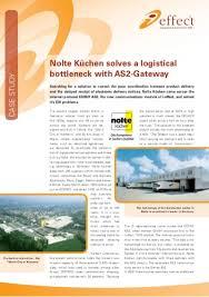 nolte küchen solves a logistical bottleneck with