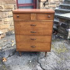 Kent Coffey Blonde Dresser by Blonde Kent Coffey Step Down Nightstand Attainable Vintage