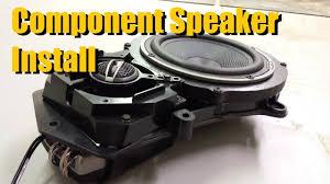 Component Speaker Installation   AnthonyJ350 - YouTube