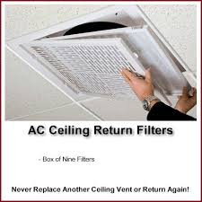 Drop Ceiling Vent Deflector by Ceiling Vents Returns Deflectors Diverters Washable