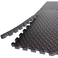 Exercise Floor by Gold U0027s Gym High Impact Flooring Puzzle Mat 6 Pieces Walmart Com