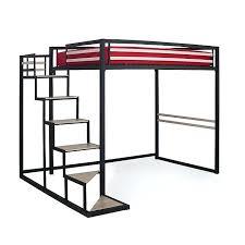 lit mezzanine noir avec bureau lit 2 personnes mezzanine home lit mezzanine 2 places noir avec