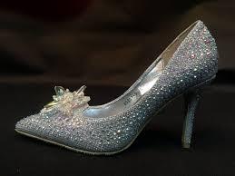 sh888 crystal slipper shoes cinderella cosplay costume high heel