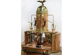 Gaggia Super Custom ABC Espresso And Cappuccino Maker Executed In
