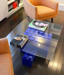A Coffee Table Made Of EverBlocks Which Are Basically Big LEGO Bricks