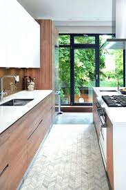 Herringbone Floor Tile Kitchen Contemporary With Island Hood Gray For Neutral Dining Room Black