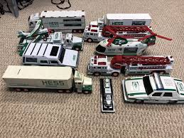 HESS TOY TRUCKS. Lot Of 10 Used Condition. Around 1990-2004 - $23.50 ... Amazoncom 2004 Hess Miniature Tanker Truck Toys Games Sport Utility Vehicle And Motorcycles Toy Kids Mini Hess Trucks Lot Of 12 All In Excellent Cdition Never Out Trucks Through The Years Newsday 1985 Bank 1933 Chevy Fuel Oil Delivery By 2008 Dump No Frontend Loader 50 Similar Items Toys Values Descriptions Review Mogo Youtube 2002 Airplane Carrier With Used Ford F250 4wd 34 Ton Pickup Truck For Sale In Pa 33117