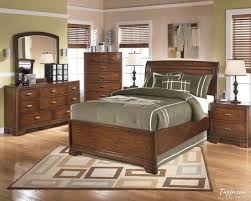 Green And Brown Bedroom Contemporary Wooden Design With Pattern Rug On Furniture Decorating Ideas