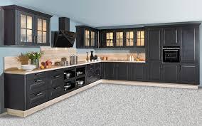 einbauküche sylt in schwarz leonard geschirrspüler