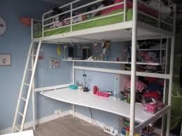 lit mezzanine bureau blanc ikea lit mezzanine simple home designs structure blanc avec plateau