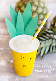 Easy Pineapple Paper Cup
