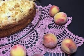 streuselkuchen mit pfirsichen einfach und lecker backen