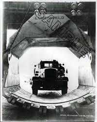 100 A Duie Pyle Trucking 1949 UTOCR C200 DUIE PYLE 55CY LUKENWELD Shovel Bucket 8x10