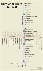 Baltimore Metro Subway — Map Lines Route Hours Tickets