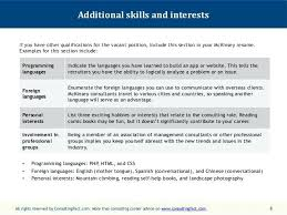 List Of Interests To Put On A Resume Examples Skills Listing Rural How Hobbies And