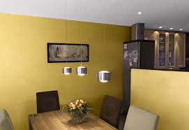 baumwollputz gelb esszimmer spanndecken mettner