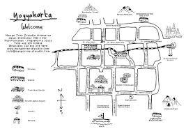 Mango Tree Dipudjo Homestay Yogyakartas Art Map