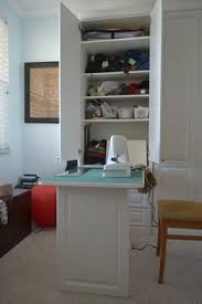 Sewing Cabinet Plans Build by Tv Armoire Turned Into A Sewing Cabinet With Fold Up Table