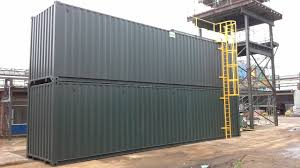 100 Shipping Containers Converted Container Conversion Into A Fire Training Unit