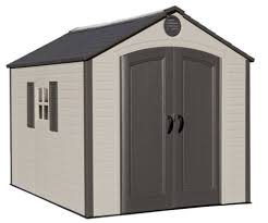 8 x 10 ft outdoor storage shed