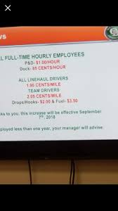 ODFL Pay Raise Effective Sept 2018 | TruckersReport.com Trucking ... My Swift Transportation Paycheck With 3277 Miles 2017 Wheels Ooida Cost Per Mile Calculator Expense Fee Pay The Real Reason For Driver Shortage Super K Trucking Newnan Georgia Longhaul Truck Driving Jobs 200 Radius Of Nashville Tn Sutherland Walmart Truck Driver Makes 3 Million Safe Local Ubers Selfdriving Went On A 120mile Beer Run To Make Careers Pin By Schneider Sales Infographics Pinterest Cfi Raises Pay Set Purchase New Trucks Best Home Furnishings Seeking Over The Road Dubois