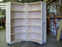 Bookcase Furniture Crate Partially Open