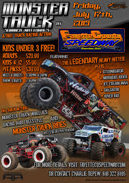 Monster Trucks – Friday, July 17th » Fayette County Speedway Monster Trucks Mini Truck Mania Arena Displays Birthday Invitation Forever Fab Boutique Official Community Newspaper Of Kissimmee Osceola County Cluding Jam Triple Threat Series Roars Into Nampa Feb 34 Screen Test At Trade Show Kyosho Electric Radio Control 2wd Readyset Nowra Steels Itself For Metal Monsters South Coast Register Thrdownsoaring Eagle Casino2016 Wheels Water Ford Fieldjan 2017 Engines Associated 18 Gt 80 Page 6 Rcu Forums