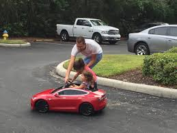 Even A 2-Year-Old Kid Can Learn To Drive Electric! (Mini Tesla ...