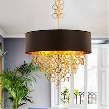 kreative moderne gold metall quasten schwarz gold stoffschirm pendelleuchten len hängen licht für esszimmer schlafzimmer hotel