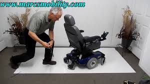 invacare pronto m51 used power chair youtube