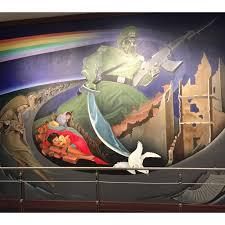Denver Colorado Airport Murals by Denver Double Rainbow Jen Chooses Joy