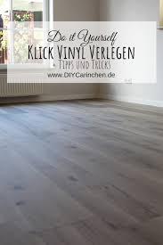 diy klick vinyl richtig verlegen mit ausführlicher