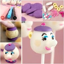 DIY Mrs Potts Cake Pops