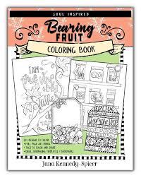 Bearing Fruit Coloring Book