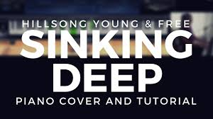 sinking piano easy sinking hillsong and free piano cover and tutorial