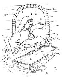 Clipart Birth Of Jesus