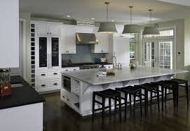 Incredible 2017 Kitchen Decoration Ideas And Great Adorable Lighting Decor Of Images With Amazing Model Contemporary White Cabinets Black Chairs Cool